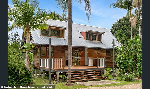 Enchanting:The Veronicas' Lisa Origliasso and her husband Logan Huffman have purchased a stylish and eye-catching rural property in far northern New South Wales