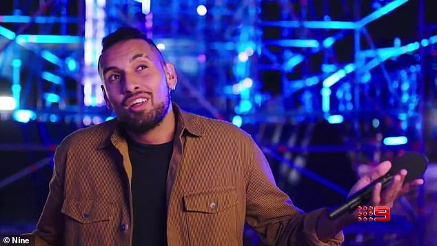 Surprise appearance: Meanwhile, it was recently revealed that Kyrgios will also be joining the cast for the upcoming season of Australian Ninja Warrior