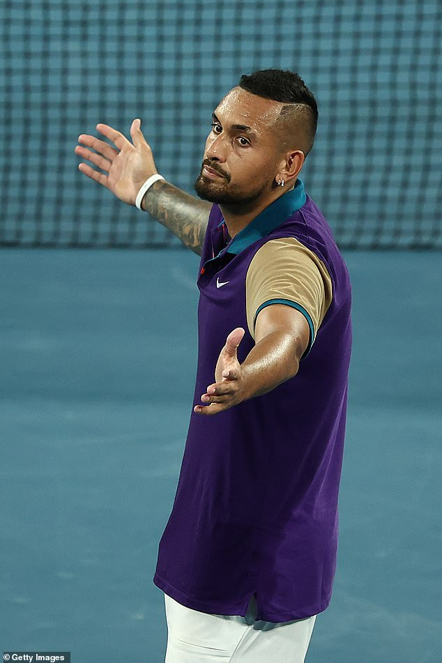 Another blow: Tennis bad boy Nick Kyrgios withdrew from Wimbledon prep event due to neck pain