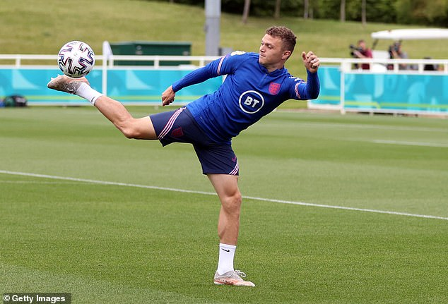England defender Kieran Trippier was the subject of a £10m offer from Manchester United