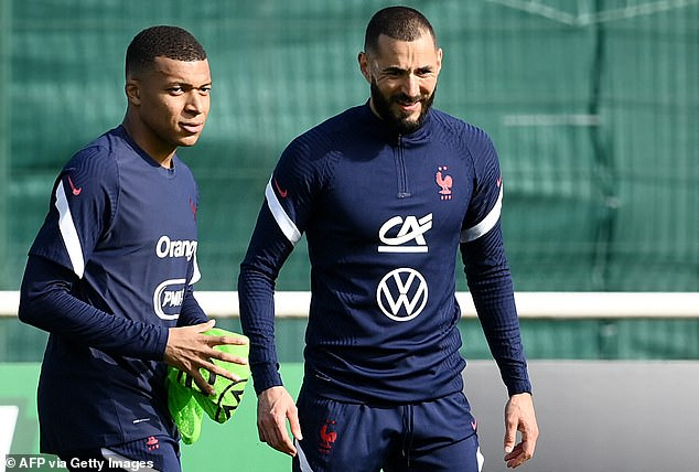 He is also backing the Frenchman to help Kylian Mbappe perform at an even higher level