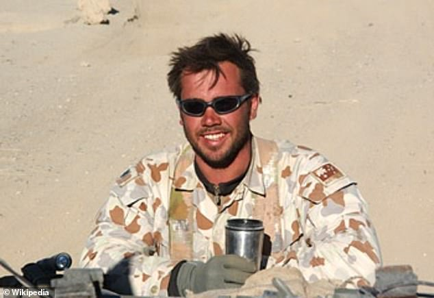 Sergeant Matthew Locke (pictured) was the second-in-command on the mission in the Chora Valley in June 2006 for which he would be awarded the Medal for Gallantry