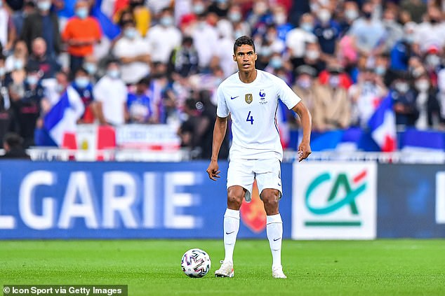 Varane is currently on international duty with France ahead of the European Championship
