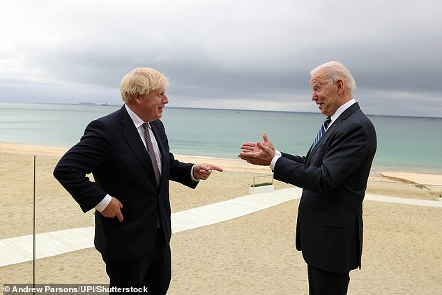 Boris Johnson has suggested rebranding the 'special relationship' between the US and the UK the 'indestructible relationship' following his first meeting with Joe Biden