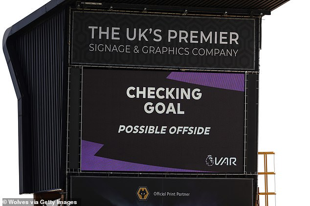 Thicker lines will be used by VAR when reviewing offside decisions in the Premier League