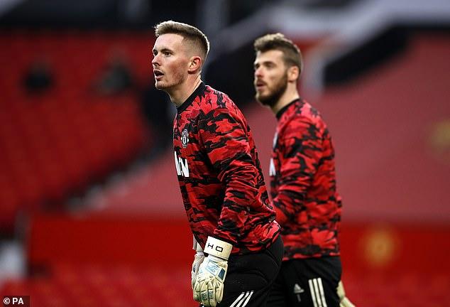 Henderson told Mourinho he would take David de Gea's place when he returned from a loan