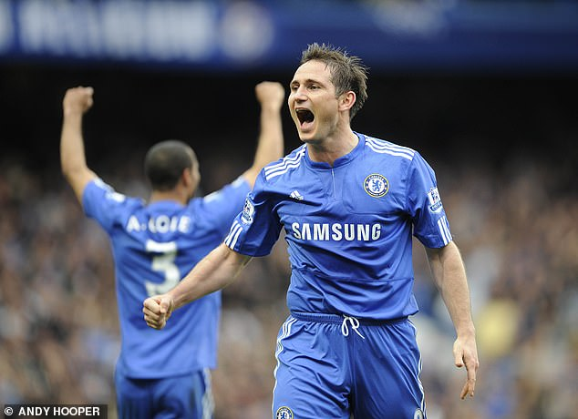 He hailed Blues legend Lampard for his composure on the ball and his 'direct' style of play
