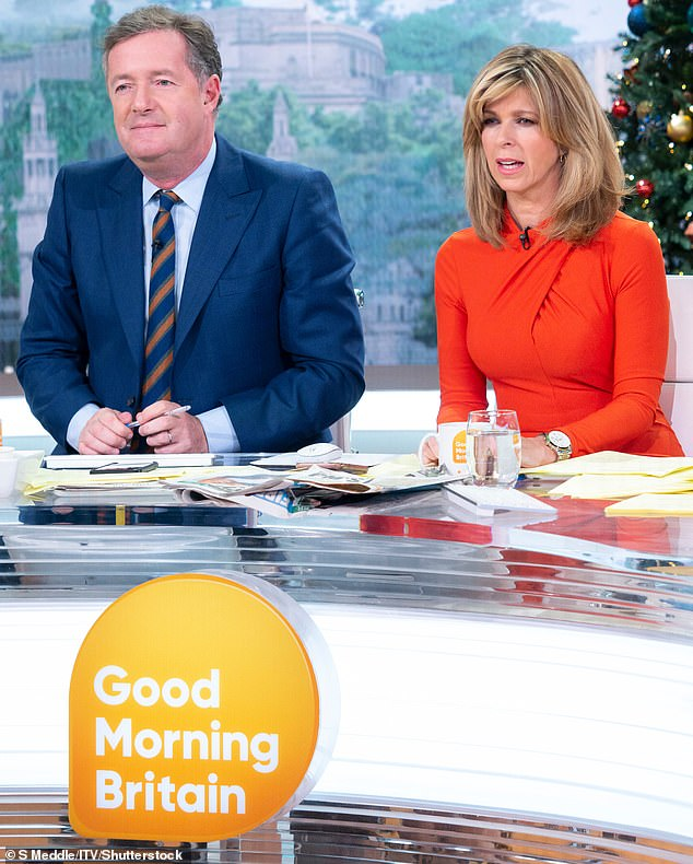 Wise Words: Her latest appearance comes as she revealed her ex-co-host Piers Morgan had gone into