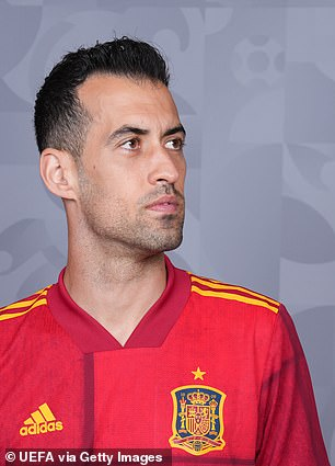 Busquets was the first Spain player to test positive for coronavirus