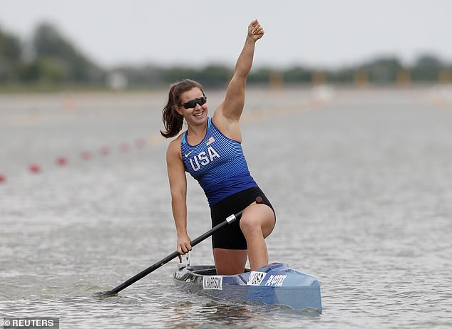 Nevin Harrison turned to sprint canoe after hip dysplasia halted her track career in 2016