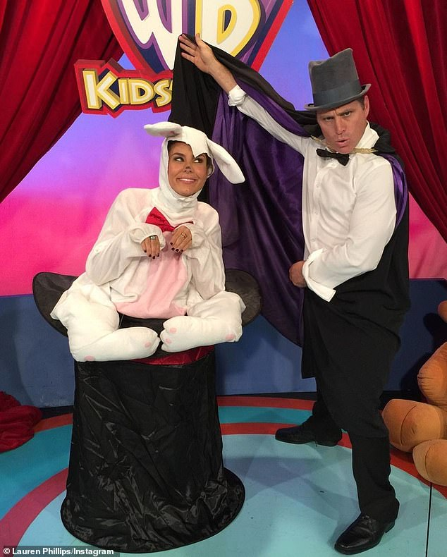Remember this? And while she seamlessly fit into that famous social circle at the charity event - it is quite a long way from her early days hosting Kids' WB Australia, alongside former Block star Andy Sunderland. She was on the show from 2011 until it was axed in 2019