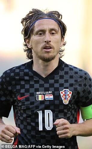 Modric's Croatia will provide a stern test in the opener at Wembley