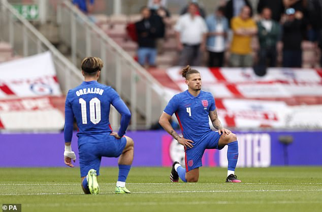 The West Indian great praised England's football side for continuing to take a knee