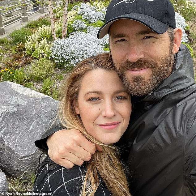 Joining forces: Ryan Reynolds and wife Blake Lively merged their Group Effort Initiative with Los Angeles Mayor Eric Garcetti's Evolve Entertainment Fund to create a new organization