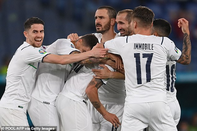 The Azzuri produced a dominant display to beat Turkey 3-0 in their first Group A fixture