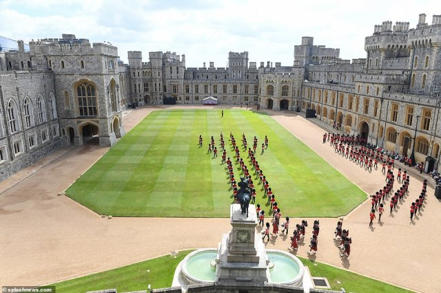 The Duke of Kent, Colonel, Scots Guards, will join the head of state for the ceremony and F Company Scots Guards will Troop the Colour of the 2nd Battalion Scots Guards through the ranks of guardsmen on parade