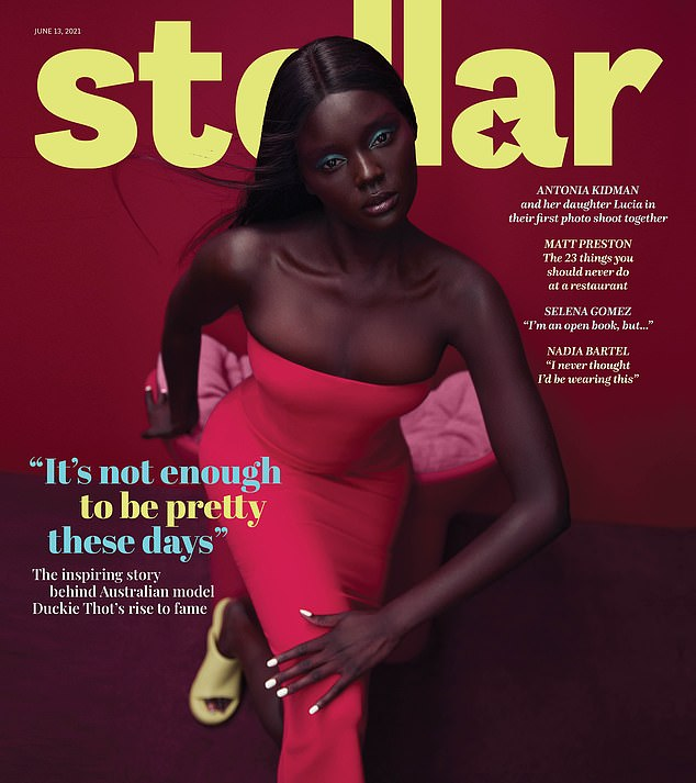 Read more: In Stellar Magazine withDuckie Thot on the cover