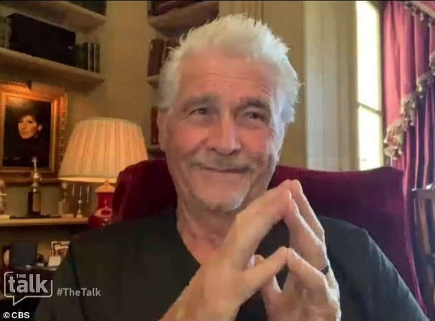 Getting deep: James Brolin opened up about how he strengthened his relationship with Barbra Streisand over their period of quarantine on Friday's episode of The Talk