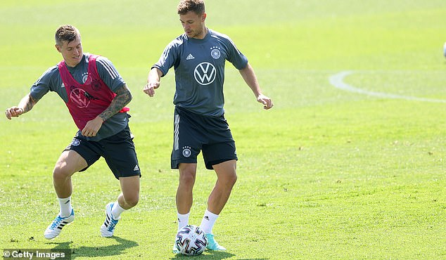 Joshua Kimmich looks like the obvious best option in midfield after shifting from right-back