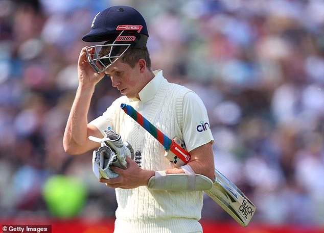 Zak Crawley is among those almost certain to be axed after another low score at Edgbaston