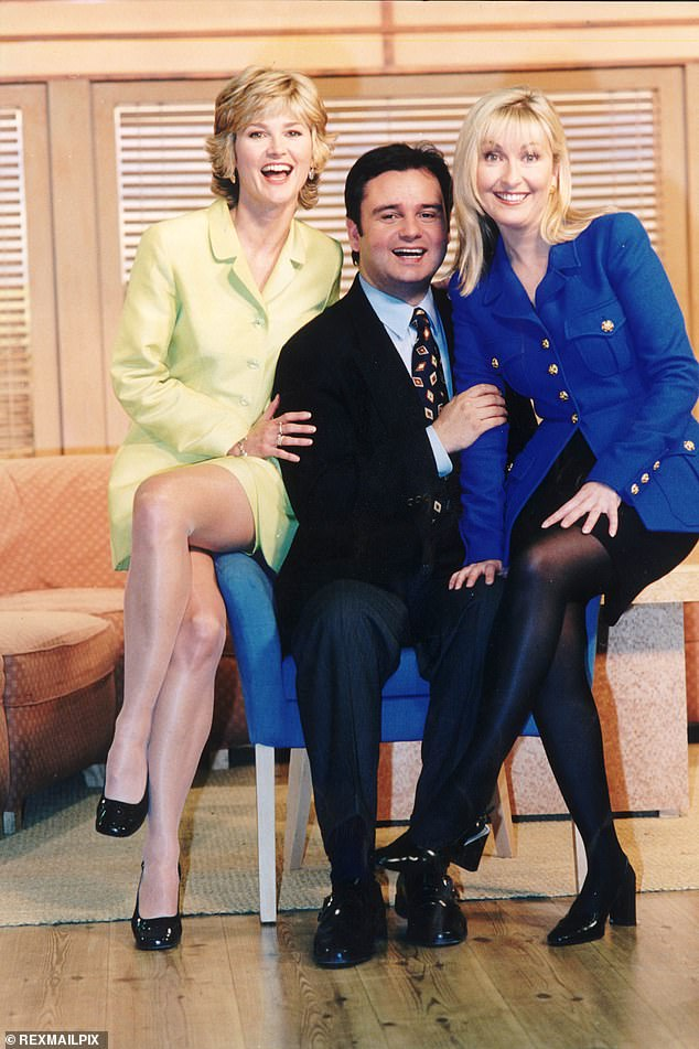 Exit:Anthea quit GMTV in 1996 and was replaced by Fiona Phillips, but a decade after their fallout, Eamonn, who famously branded her 'Princess Tippy Toes', reached out to bury the hatchet