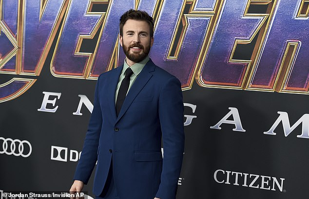 The Captain Himself: Evans, who hung up his shield as Captain America in Avengers: Endgame in 2019, turns 40 this Sunday