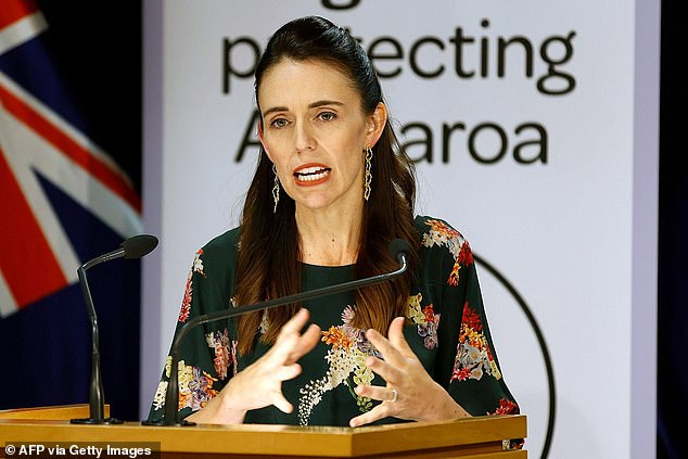 'This is not the story':The Australian actress has been cast as New Zealand Prime Minister Jacinda Ardern (pictured) in upcoming film They Are Us