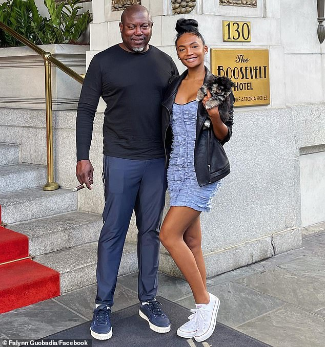 Better days:An interesting thing to note is that Falynn (seen with Simon) was introduced as Porsha's friend when she made her debut on the Real Housewives Of Atlanta in an episode which aired in December 2020 but Porsha insisted the two are not friends in her recent post