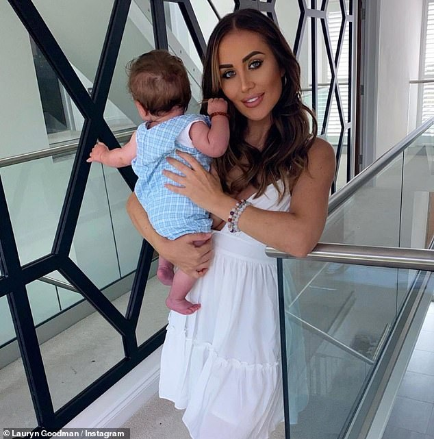 Drama: Annierecently gushed that Kyle was the 'best daddy', days after his ex Lauryn Goodman hit out at the footballer, 31, for allegedly 'bullying' their son Kairo (pictured)