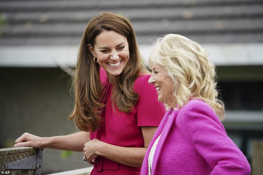 The Duchess of Cambridge and First Lady Jill Biden have written a joint article calling for a 'fundamental shift' in the way the US and Britain 'approach the earliest years of life'