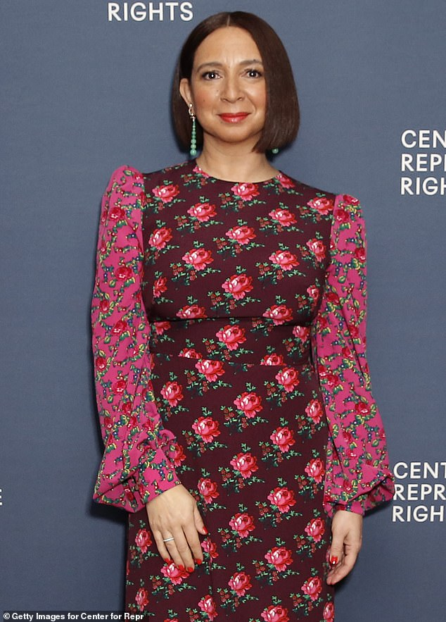 Familiar feeling: Maya Rudolph recently recalled the time that sheaccidentally approached George Clooney like 'an old friend' the first time they met at the Oscars