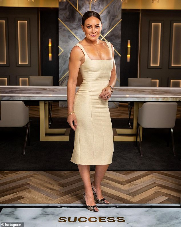 Revealed:Michelle Bridges (pictured) has revealed the 'beautiful' scene that DIDN'T make the final cut on Celebrity Apprentice
