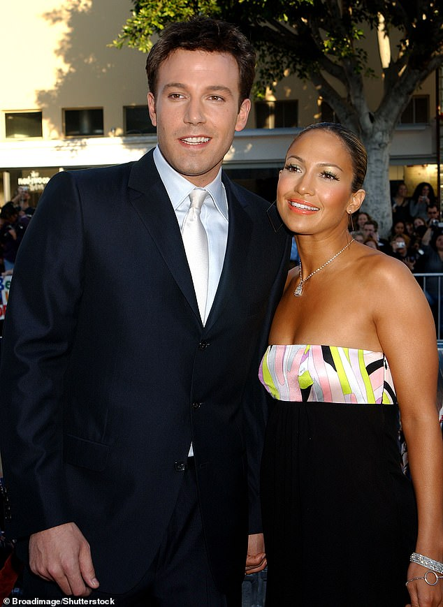 Getting serious: Their renewed romance seems to be getting serious, as Ben was seen alone with Jennifer's mother Guadalupe while filming a project in Las Vegas last week; seen together in 2003