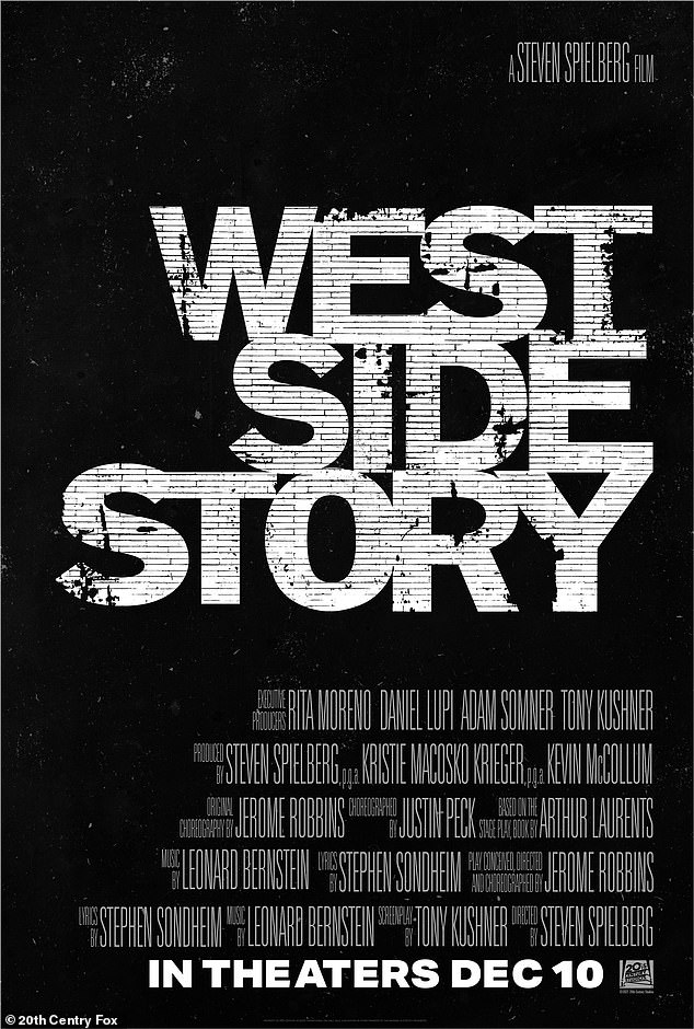 Coming soon: The new version of West Side Story is currently set to be made available to the public on December 10th