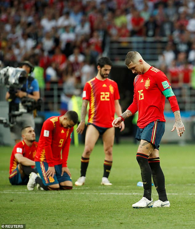 Spain crashed out to hosts Russia on penalties at the 2018 World Cup in more disappointment