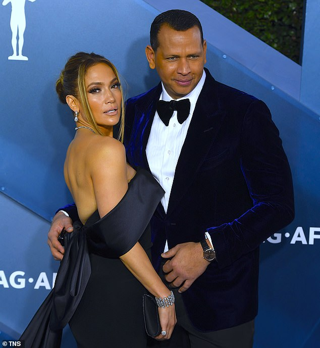 Oh no: This came just weeks after claims her 'close friendship' caused the Alex Rodriguez and Jennifer Lopez split, as the couple are seen together in January 2020