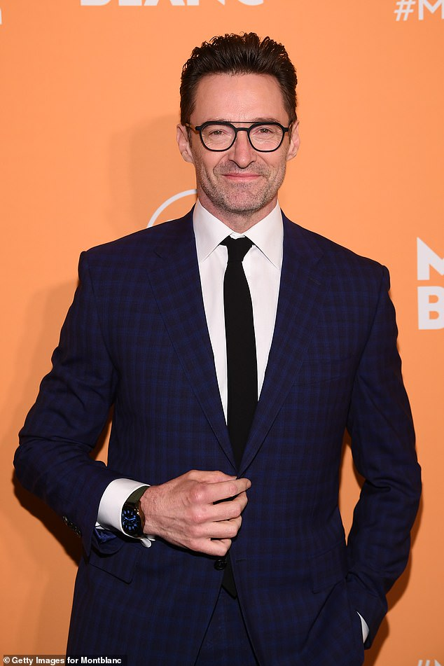 Surprise!: Hugh shared details of how twenty of his friends 'jumped out' as he was about to share his first kiss with Sarah. He later revealed that he and Sarah finally had the kiss and would meet in the park 'everyday for a month'