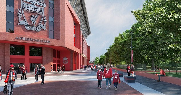 The club said the redeveloped Enfield Road stand is ready for the 2023-24 season