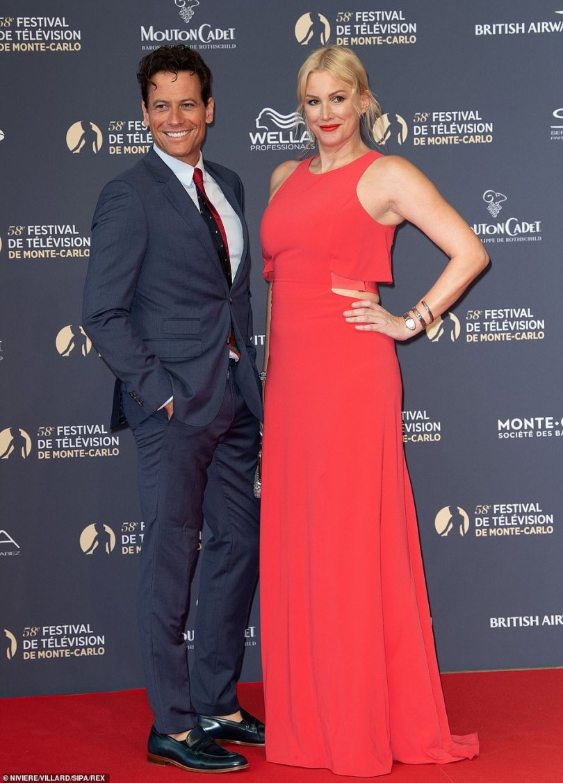 Still friends: In February, Alice insisted she and the actor 'are still friends' and confirmed that they were pressing ahead with discussions over a 'legal separation' (pictured in 2018)