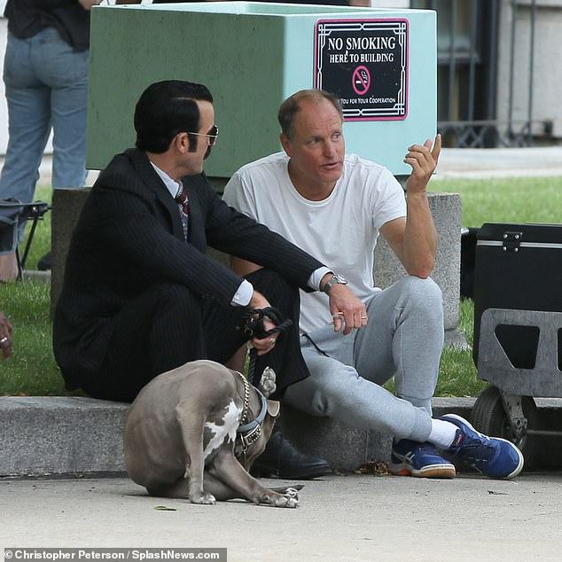 Stars:The White House Plumbers stars Theroux alongside Cheers vet Woody Harrelson as E. Howard Hunt