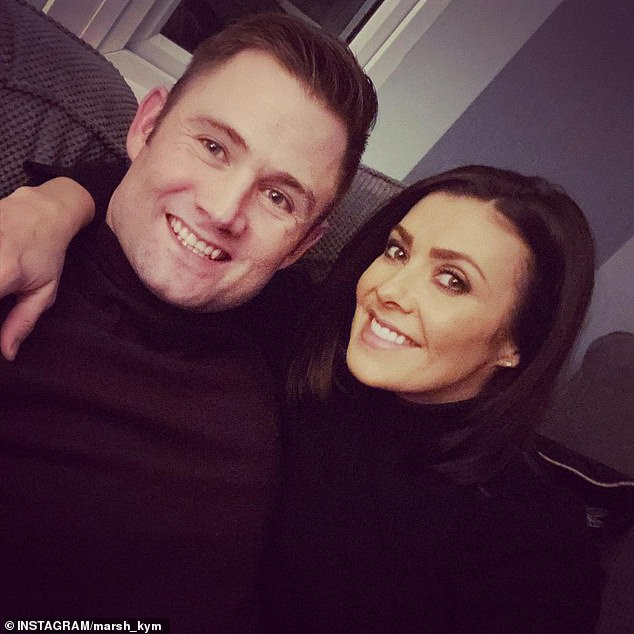 Time together: The couple had been dating since July 2018 but have had to endure long stints of separation as Scott serves abroad