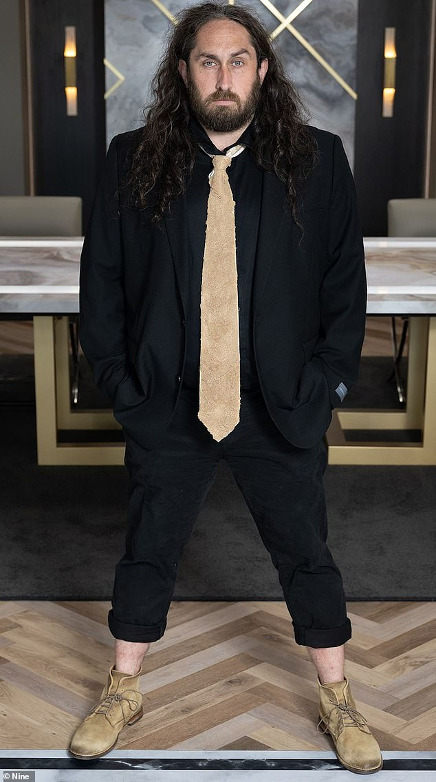 Celebrity apprentice: Ross Noble (pictured) opened up about the loss of his home in the 2009 Black Saturday bushfires