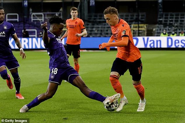 Lokonga isa natural leader and was given the captain's armband at Anderlecht in November