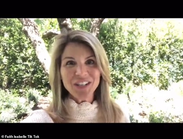 Scandal: Video comes after Loughlin spent two months in jail for role in college admissions scandal