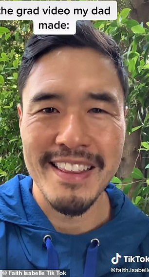 Full of stars!  Mark Wahlberg and Randall Park were among the big names congratulating Faith