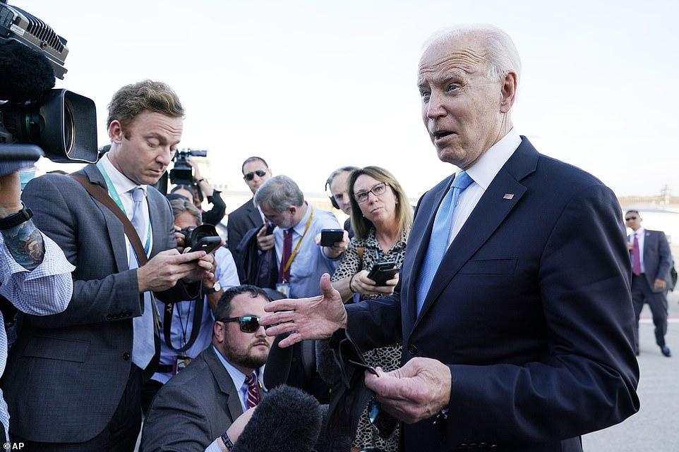 It was Biden's first trip overseas as president