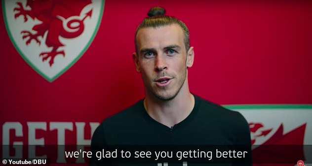 Wales star Gareth Bale was among the players and coaches from every Euro 2020 wishing Eriksen a speedy recovery in a video published by the Danish FA