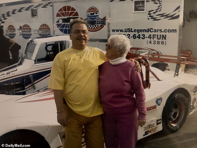Walter Anderson's family slammed Rodriguez's release as 'sickening' and are hoping he receives the maximum penalty possible. Walter is pictured with his mother, Francis, now 85-years-old