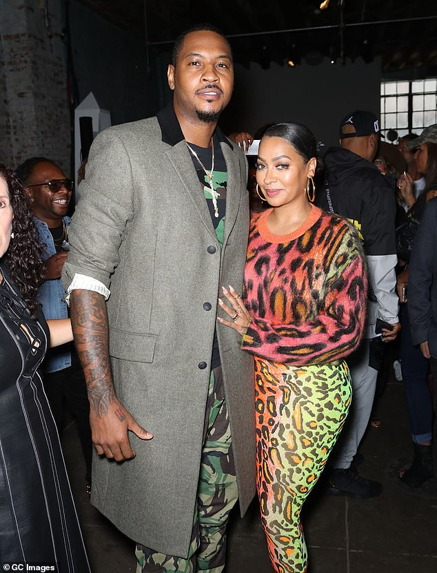 The end: Kim Kardashian's boyfriend La La Anthony divorces her husband, NBA star Carmelo Anthony after 11 years of marriage