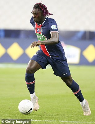 They also discussed Moise Kean - who could to sign on a second loan deal at PSG